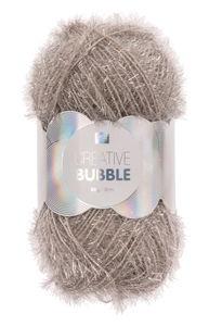 Creative Bubble Garn 50g/90m, silber