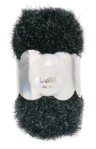 Creative Bubble Garn 50g/90m, schwarz