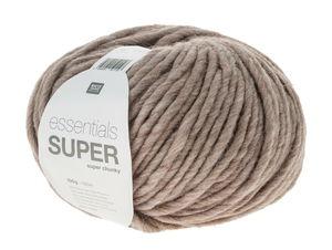 Essentials Super Chunky - Wol (100g/100m) beige