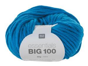 Essentials Big 100 50g/43m, azurblau