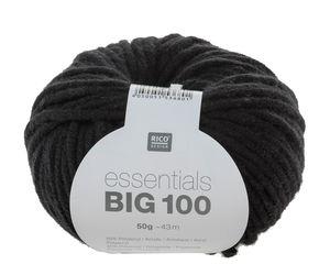 Essentials Big 100 50g/43m, schwarz