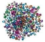 Perlas de plástico metalizadas, 250 de colores