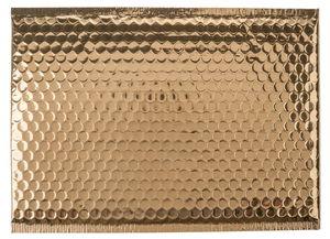 Bolsa de plástico de burbujas (250 x 340 mm) oro