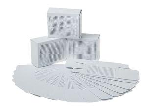 Cadeaudoosjes om op te borduren, wit, 24 stuks