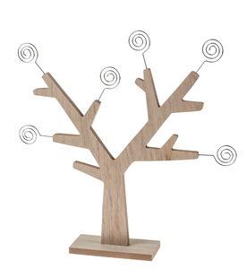 Houten boom met 6 memohouders (30,5 x 31 cm)
