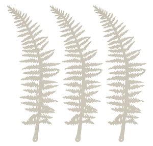Adornos de papel - Helechos (27 x 8 cm) 3 ud.