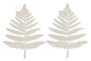 Adornos de papel - Helechos (40 x 31 cm) 2 ud.