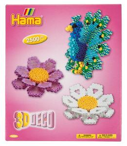 Hama® confezione regalo 3D perline da stiro