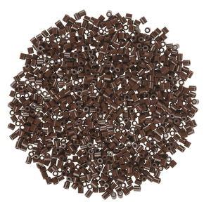 Hama midi strijkkralen, bruin, 1000 stuks