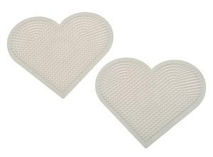 Hama legplaten - hart (8 x 7 cm) 2 stuks
