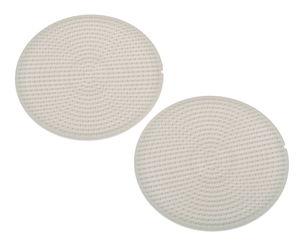 Hama Mini Legeplatten Kreis, 2 Stück (7,5 cm)