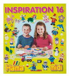 Livret d'inspiration Hama 16 pour perles Midi