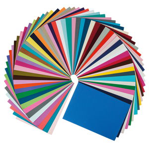 Papier/fotokarton blok A4, 60 kleuren/60 vel
