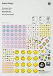 Motivblock, 30 Blatt Smiley Hotfoil (21 x 30 cm)