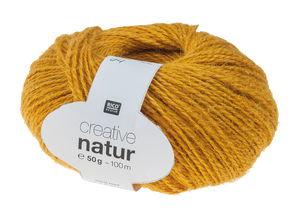 Creative Nature Garn 50g/100m, senf