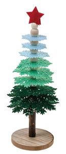 Bastelset Filzbaum, grün (10 x 25 cm)