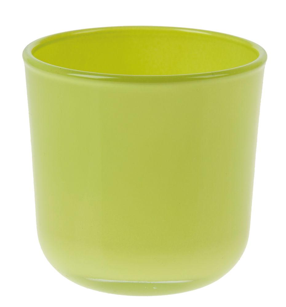 137877 pot en verre cylindrique vince. Black Bedroom Furniture Sets. Home Design Ideas